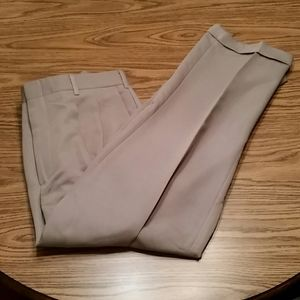 Yves Saint Laurent dress pants, 36x32, light grey